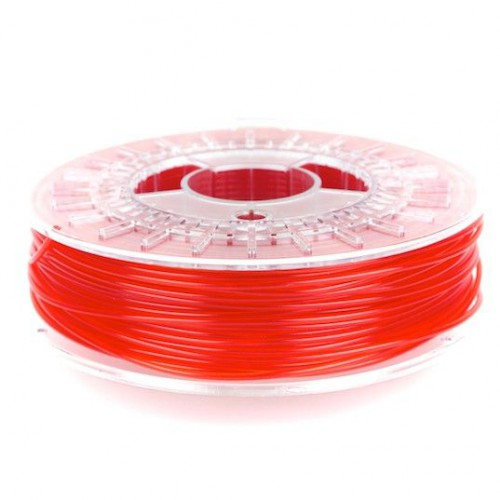 PLA пластик Colorfabb 1,75 для 3D принтера red transparent 0,75 кг